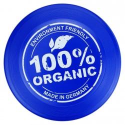 Frisbee ecologico da 23 cm colore blu