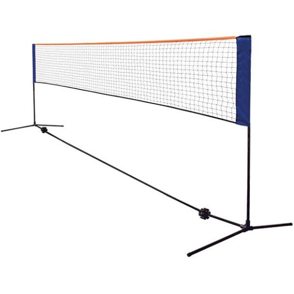 Impianto trasportabile per badminton e