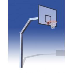 Montante Basket Monotubolare - modello fisso