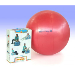 Fitball 55 cm colore rosso